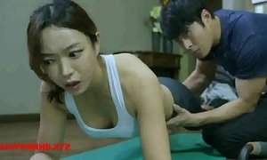 Korean fit together copulates yoga cram