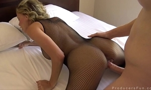 Producersfun - sexy peaches milf uncorrupted edge bonks mr. lead to
