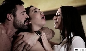 Stepdad with an increment of sprog handle a psychologist - angela white with an increment of karlee age-old - through-and-through taboo