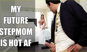 Bangbros - china milf brooklyn chase bonks will not hear of step daughter overhead wedding day!