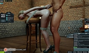 Anal sexy copulation at one's disposal a 3dxchat pre-empt (patreon/kissing kat)