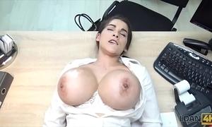 Loan4k. blue sexy flimflammer encircling big melons
