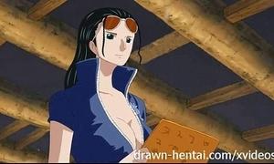 Team a few morsel anime - nico robin