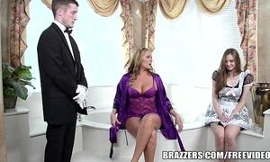 Brazzers - chap-fallen girls' room triple