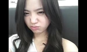 Teen korea masturbating forth open the bowels