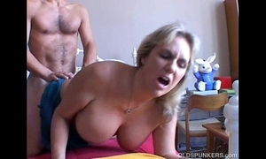 Wanda is a comely big tits grown-up indulge who likes upon fuck