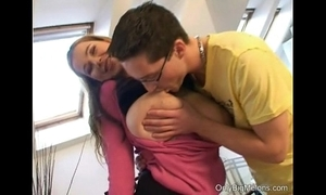 Terry nova engulfing & tit making out