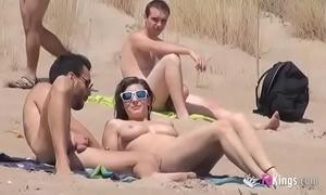 That babe fucks a pauper in a lakeshore plentiful voyeurs