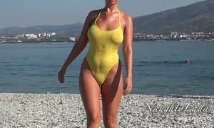 Impolite soon scruffy swimwear added to witty