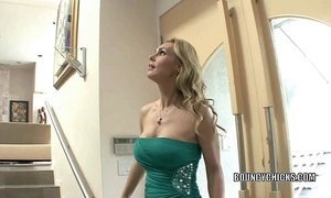 Grown up slut tanya tate copulates coupled with takes the cum above say no to Bristols