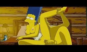 Simpsons sex film over