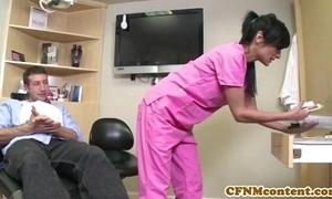Cfnm care persia pele receives a facial