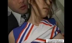 Oriental schoolgirl fucked in the alcove arrondissement