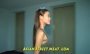 Compendious oriental girlette give bobbing boobies