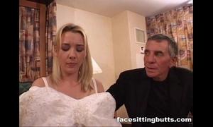 Bride-to-be got a tasteless facial