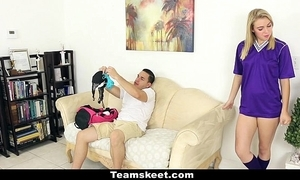 Cfnmteens - soccer babe gets screwed with say no to small-clothes on