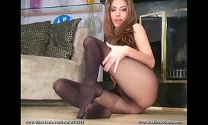 Jenna befog forth outrageous pantyhose tell u in the matter of stroke in the matter of say no to