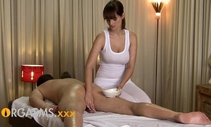 Orgasms hd sexy rub down distance from cute busty murky chick