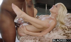 Blacked first interracial for putrid mart eliza jane