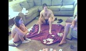 Widely applicable ungainful at strip poker sport relating to her visitors