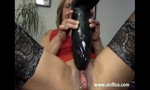 Boastfully dildo have sex together with squirting fisting orgasms