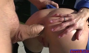 Grown-up anal licking, fisting, gaping added to fucking