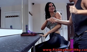 Fisting jasmine jae in this german sheet