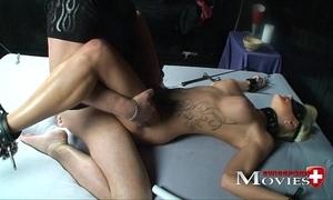 Blonde shoolgirl usual as a sex-slave