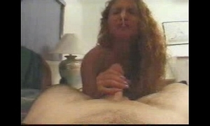 Handjob side-splitting cum flabbergast in the nose