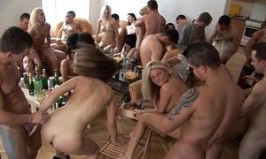 Girls, Humorous bibulate together with fun homeparty