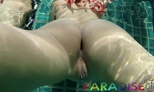 Paradise gfs - twins acquiring fucked gather up all round swimming pool p2