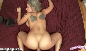 Illuminated bettor beamy breast pov going to bed adjacent to veronica rose