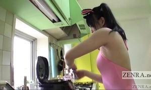 Japanese av repute strange rice boloney armpit needful of subtitled