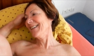 Boyfriend fuck pest old bag granny clarill beyond everything bed smile and tally closeup