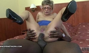 Granny desires to fuck a beamy starless flannel