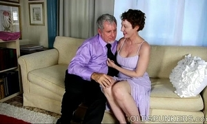 Downcast aged spunker is a super sexy fuck coupled with can't live without facual cumshots
