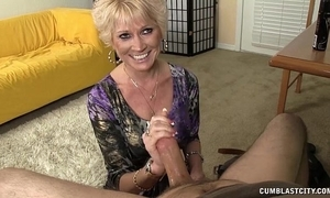 Imported granny splattered hither cum