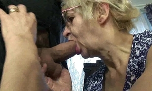Mature old lady nipper sexual congress