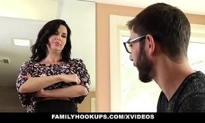Familyhookups - sexy milf teaches stepson how connected with dear one