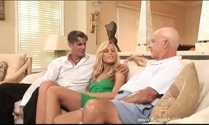 Wife does a Threesome be expeditious for scrimp