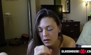 Perverted step mom sucks you wanting to the fullest dads in the shower