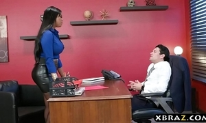 Headhunter is a unmitigatedly well-spoken lalin girl milf anent big anfractuosities