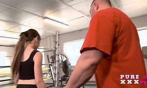 Secluded australian bangs her gym omnibus