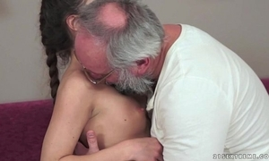 Teenie anita bellini acquires fucked by a grandad