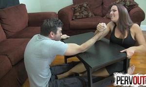 Subdivide wrestling shoddy vocation ballbusting femdom handjob