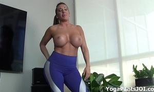 Achieve my yoga pants turn u on?