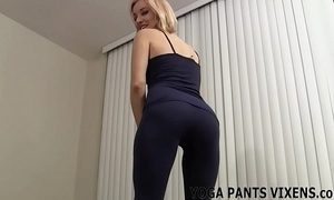 Watch me conclude my yoga added to u spinal column realize so constant joi