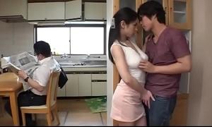 Amazing japanese stepmom