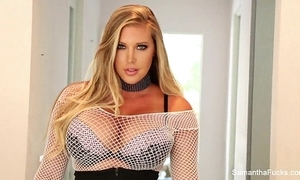 Samantha saint dildos the brush pest