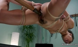 Sinister squirter anal screwed lezdom
